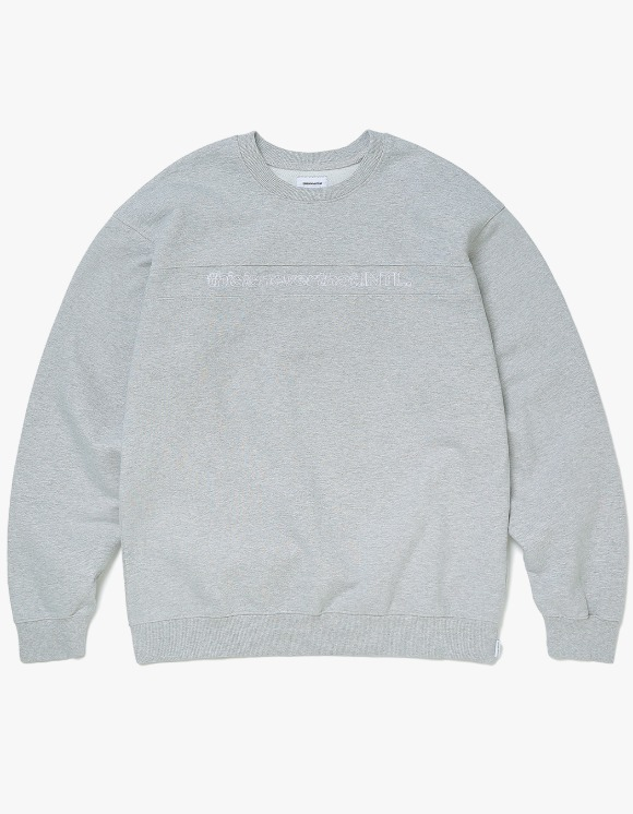 thisisneverthat SP-INTL. Crewneck - Gray | HEIGHTS. | 하이츠 온라인 스토어