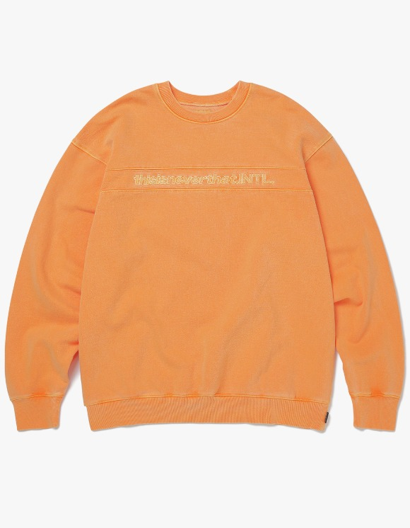 thisisneverthat SP-INTL. Crewneck - Apricot | HEIGHTS. | 하이츠 온라인 스토어