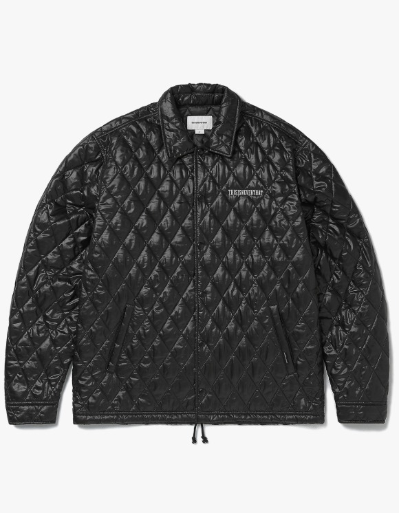 thisisneverthat Quilted Coach Jacket - Black | HEIGHTS. | 하이츠 온라인 스토어