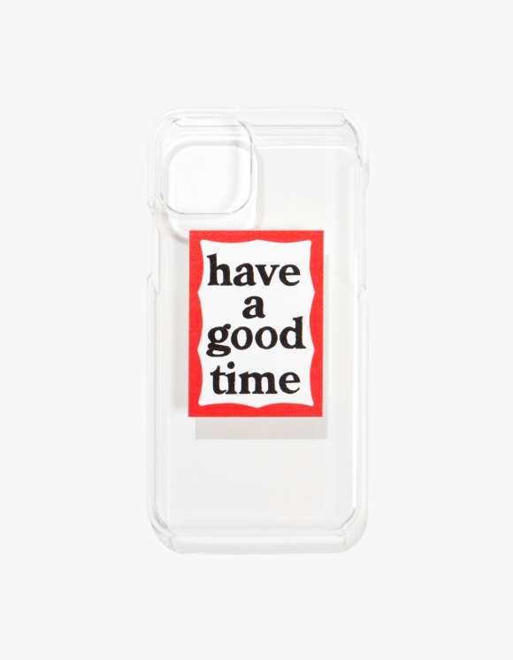 have a good time Frame iPhone Case 11/11Pro - Clear | HEIGHTS. | 하이츠 온라인 스토어