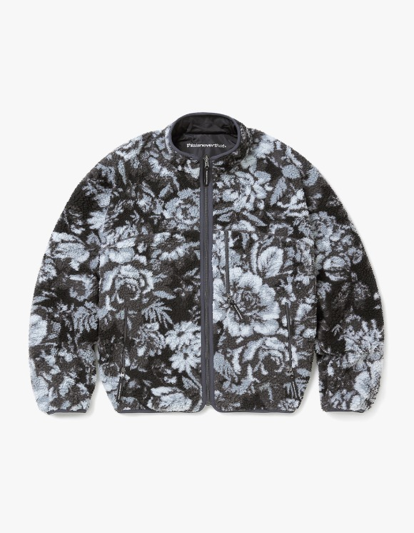 thisisneverthat Reversible Boa Fleece Jacket - Flower | HEIGHTS. | 하이츠 온라인 스토어