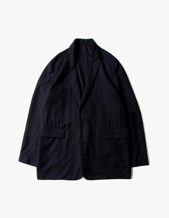 Brown Yard Utility Jacket - Navy | HEIGHTS. | 하이츠 온라인 스토어