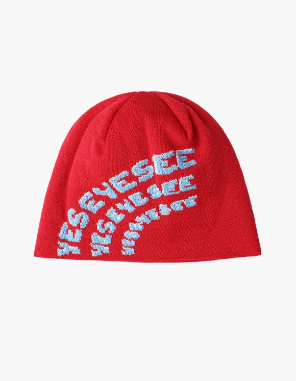 yeseyesee Y.E.S Alpine Beanie - Red | HEIGHTS. | 하이츠 온라인 스토어