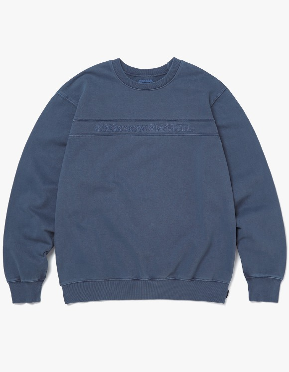 thisisneverthat SP-INTL. Crewneck - Navy | HEIGHTS. | 하이츠 온라인 스토어