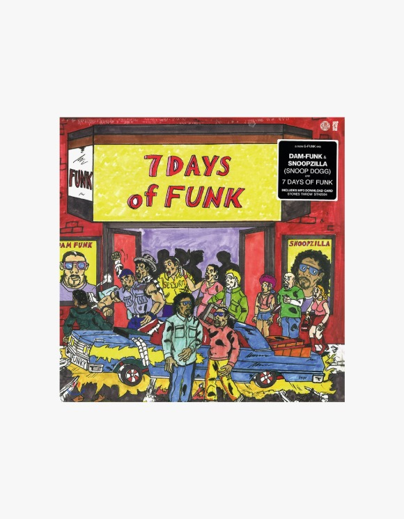 Stones Throw Records 7 Days Of Funk ‎– 7 Days Of Funk | HEIGHTS. | 하이츠 온라인 스토어