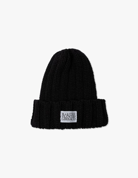 Marith+Franois Girbaud MFG CLASSIC LOGO BEANIE black | HEIGHTS. | 하이츠 온라인 스토어