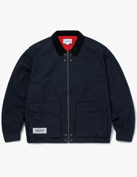 thisisneverthat Hunting Jacket - Navy | HEIGHTS. | 하이츠 온라인 스토어