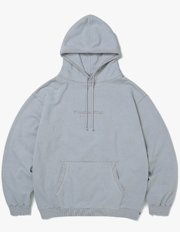 thisisneverthat L-Logo Hooded Sweatshirt - Light Gray | HEIGHTS. | 하이츠 온라인 스토어