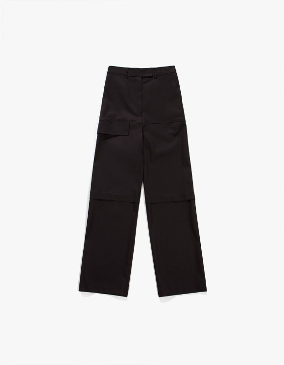 TheOpen Product Flap Pocket Wool Pants - Dark Brown | HEIGHTS. | 하이츠 온라인 스토어