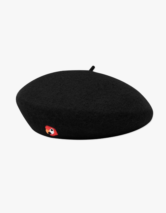KANCO KANCO LOGO FELT BERET black | HEIGHTS. | 하이츠 온라인 스토어