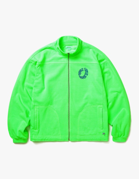 thisisneverthat RING Sweat Jacket - Neon Green | HEIGHTS. | 하이츠 온라인 스토어