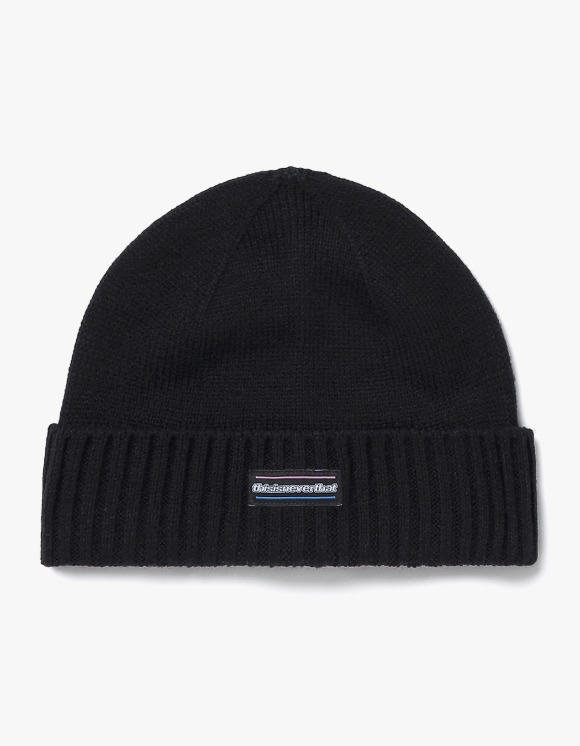 thisisneverthat ESP-Logo Beanie - Black | HEIGHTS. | 하이츠 온라인 스토어