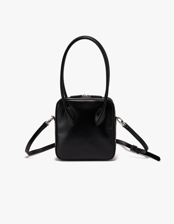 TheOpen Product Mini Bowling Leather Hand Bag - Black | HEIGHTS. | 하이츠 온라인 스토어