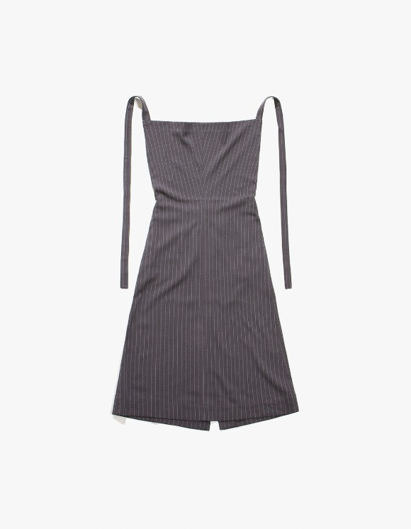 TheOpen Product Halter Cowl Neck Dress - Grey | HEIGHTS. | 하이츠 온라인 스토어