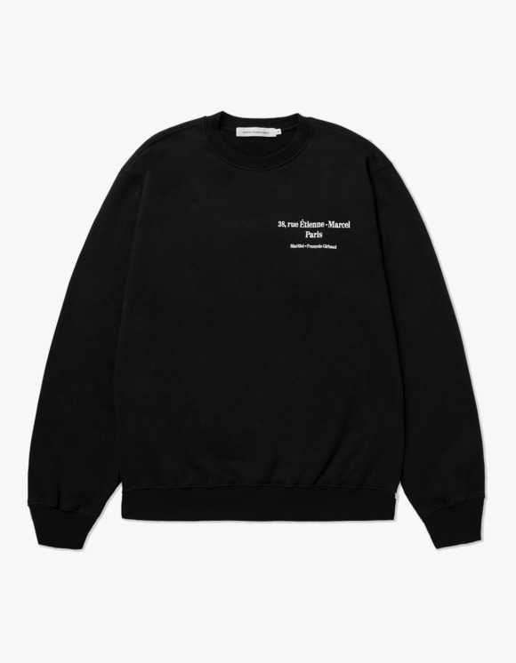 Marith+Franois Girbaud MARITHE L ADRESSE SWEATSHIRT black | HEIGHTS. | 하이츠 온라인 스토어