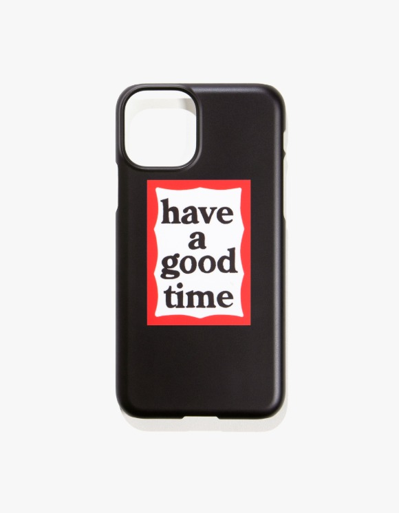 have a good time Frame iPhone Case 11/11Pro - Black | HEIGHTS. | 하이츠 온라인 스토어