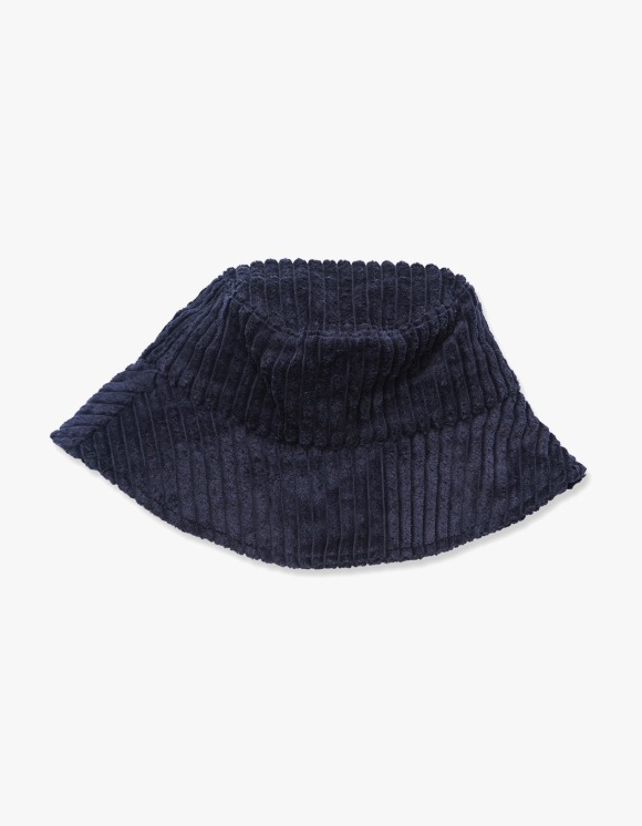 Enzo Blues Corduroy Bucket Hat - Navy | HEIGHTS. | 하이츠 온라인 스토어