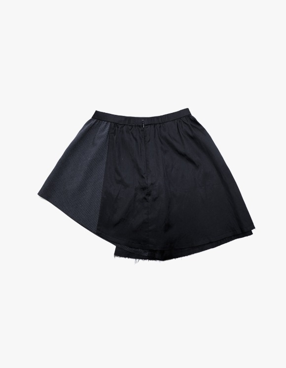 TheOpen Product Panelled Full Mini Skirt - Black | HEIGHTS. | 하이츠 온라인 스토어