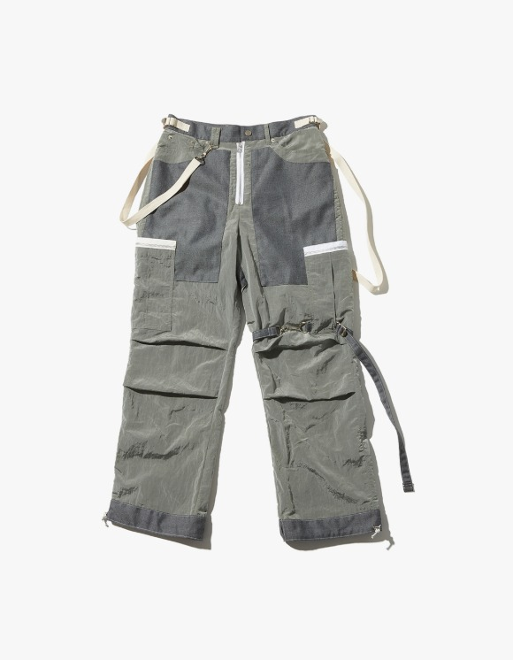 JOEGUSH Tactical Cargo Pants - Grey | HEIGHTS. | 하이츠 온라인 스토어