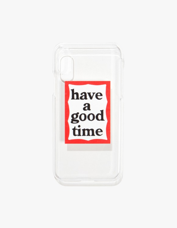 have a good time Frame iPhone Case X/XS - Clear | HEIGHTS. | 하이츠 온라인 스토어