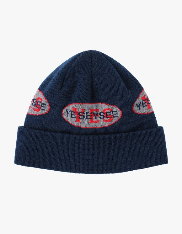 yeseyesee Y.E.S Engineer Beanie - Navy | HEIGHTS. | 하이츠 온라인 스토어