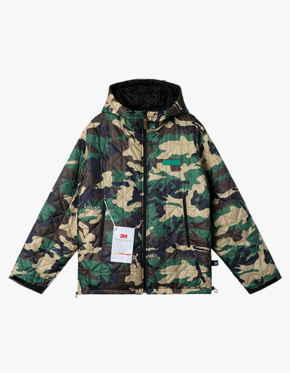 yeseyesee Y.E.S Reversible Parka - Camo/Black | HEIGHTS. | 하이츠 온라인 스토어