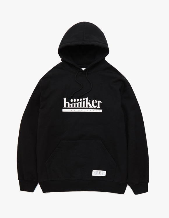 Club Activity Hiker Hoodie - Black | HEIGHTS. | 하이츠 온라인 스토어