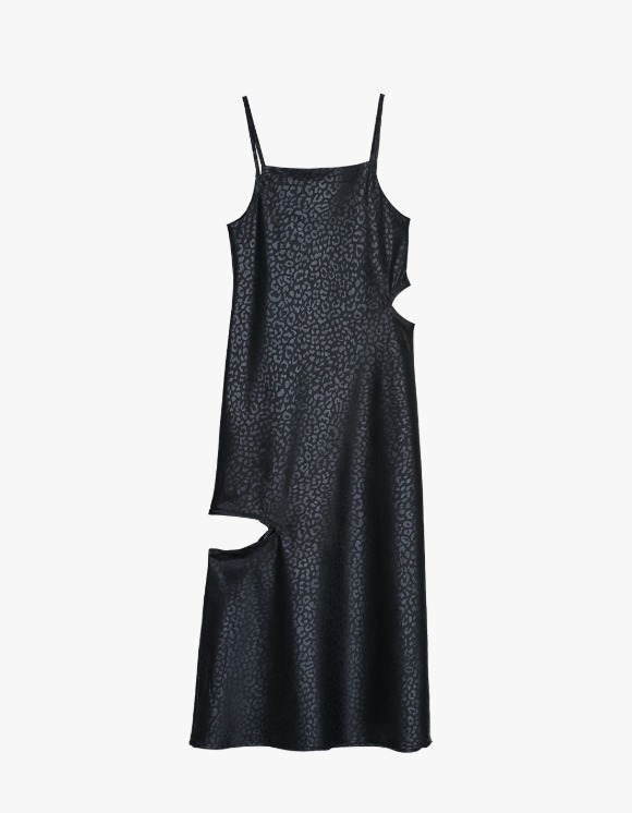 Media(82) Cutout Slip Dress - Leopard | HEIGHTS. | 하이츠 온라인 스토어