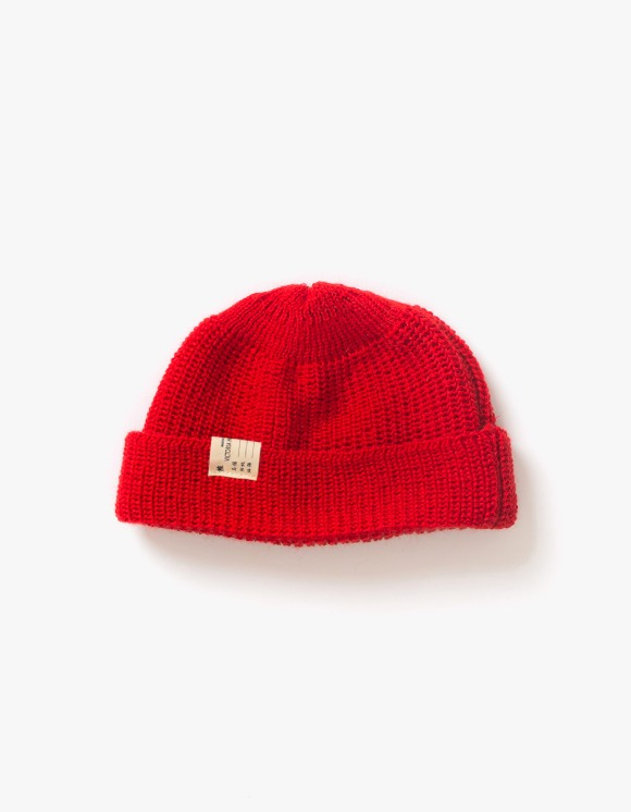 Victoria Hong Kong Watch Cap Beanie - Red | HEIGHTS. | 하이츠 온라인 스토어