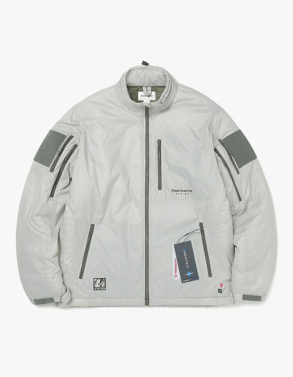 thisisneverthat Insulated PCU Jacket - Grey | HEIGHTS. | 하이츠 온라인 스토어