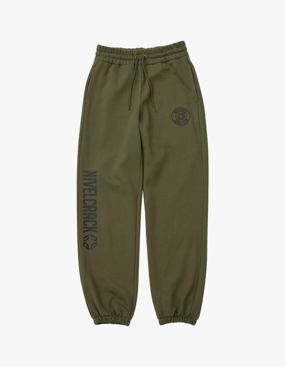 NIVELCRACK OG Squad Sweat Pants - Green | HEIGHTS. | 하이츠 온라인 스토어
