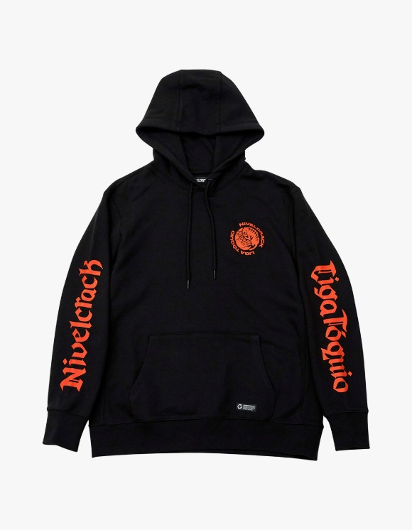 NIVELCRACK Far East Derby Hoodie - Black | HEIGHTS. | 하이츠 온라인 스토어