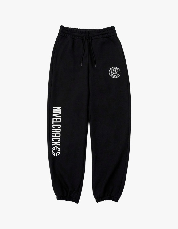 NIVELCRACK OG Squad Sweat Pants - Black | HEIGHTS. | 하이츠 온라인 스토어