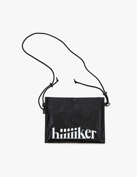 Club Activity Hiker Sacoche Bag - Black | HEIGHTS. | 하이츠 온라인 스토어