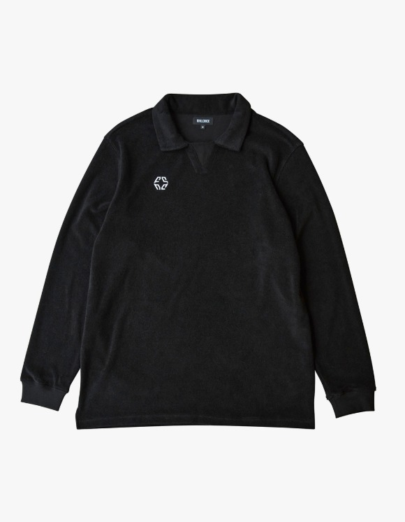 NIVELCRACK Terry Drill Top - Black | HEIGHTS. | 하이츠 온라인 스토어