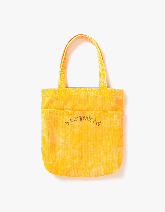 Victoria Hong Kong Bedford Corduroy Tote Bag - Yellow | HEIGHTS. | 하이츠 온라인 스토어