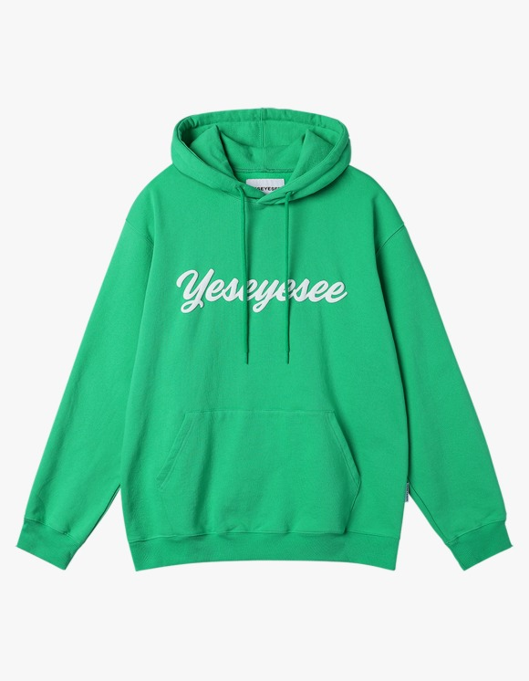 yeseyesee Y.E.S Junior Hoodie - Green | HEIGHTS. | 하이츠 온라인 스토어