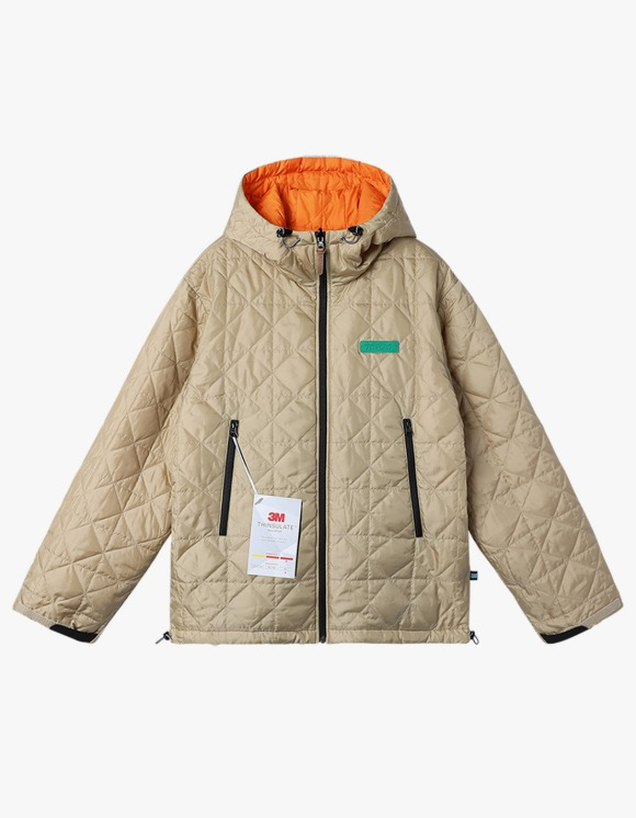 yeseyesee Y.E.S Reversible Parka - Beige/Orange | HEIGHTS. | 하이츠 온라인 스토어