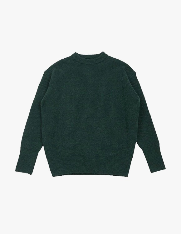 Technophobe TNT Crew Neck Yak Sweater - Moss Green | HEIGHTS. | 하이츠 온라인 스토어
