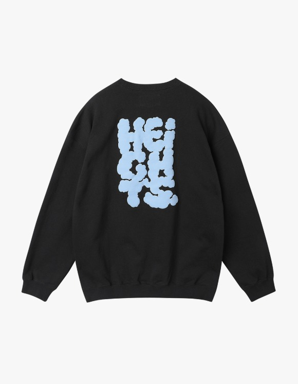 yeseyesee Y.E.S Heights Sweatshirts - Black | HEIGHTS. | 하이츠 온라인 스토어