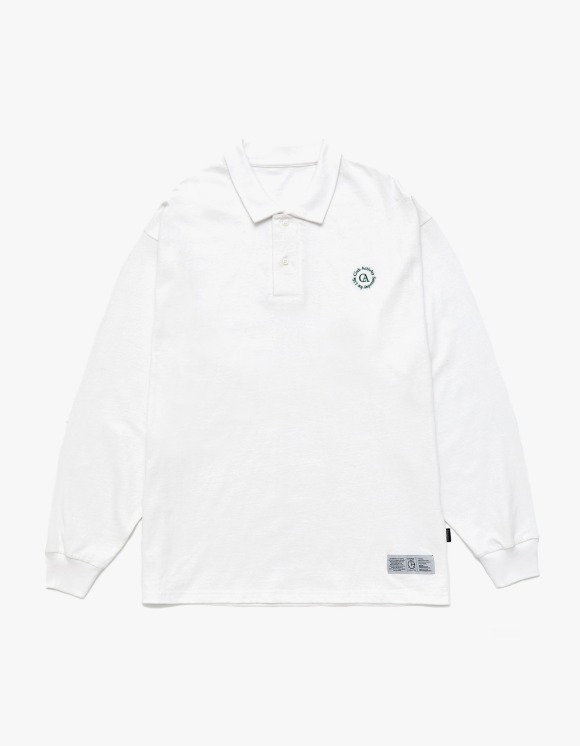 Club Activity Circle logo Polo Shirts - White | HEIGHTS. | 하이츠 온라인 스토어