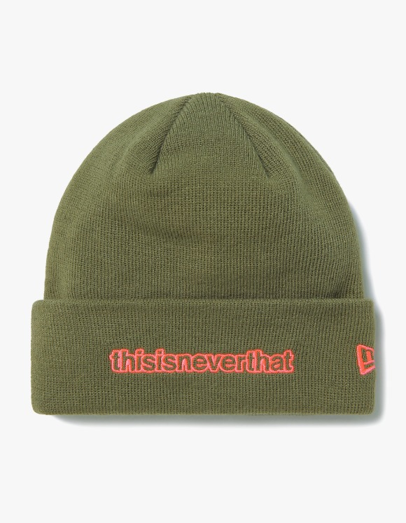 thisisneverthat Basic Cuff Knit TNT - Olive | HEIGHTS. | 하이츠 온라인 스토어