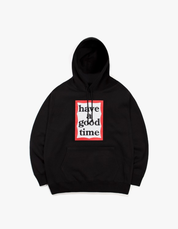have a good time Frame Pullover Hoodie - Black | HEIGHTS. | 하이츠 온라인 스토어