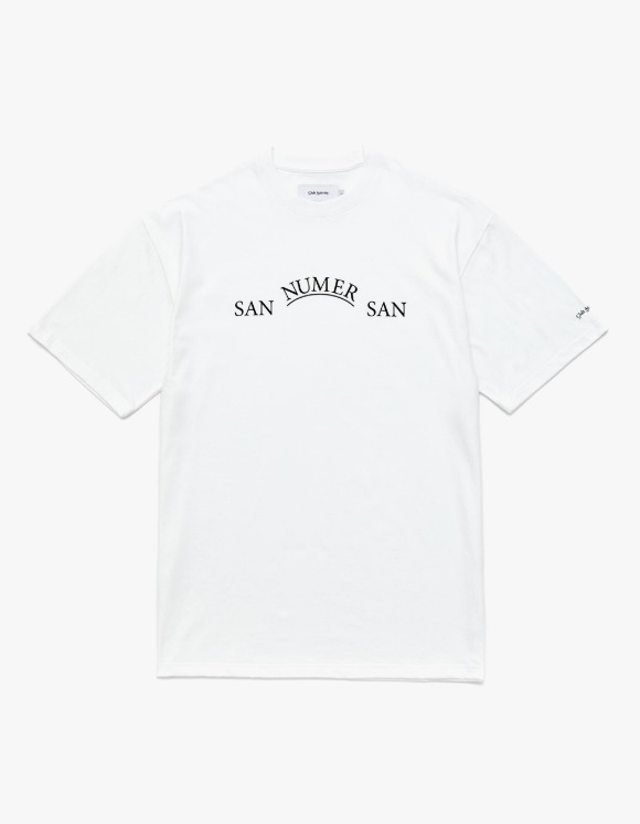 Club Activity San Numer San Short Sleeves - White | HEIGHTS. | 하이츠 온라인 스토어