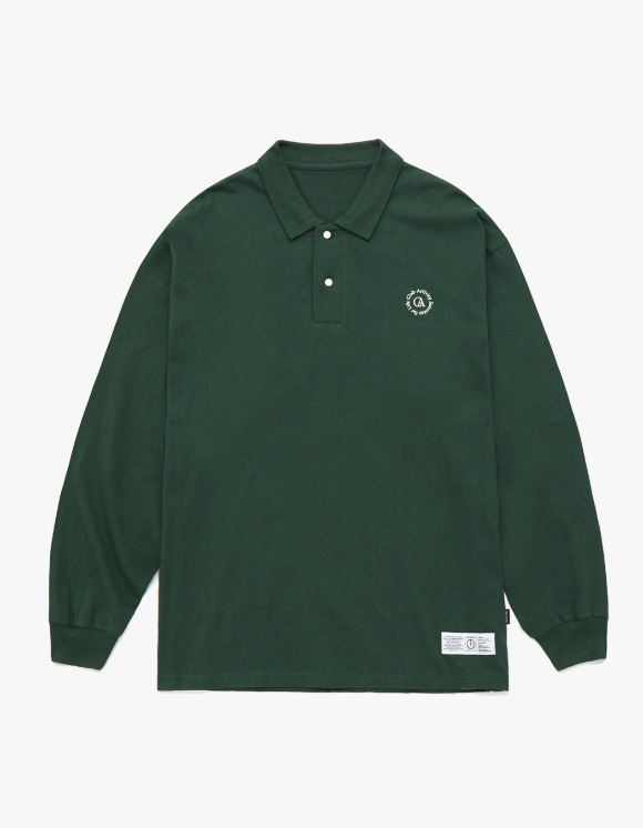 Club Activity Circle logo Polo Shirts - Green | HEIGHTS. | 하이츠 온라인 스토어