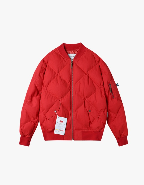 yeseyesee MA1 Puffer Jacket - Red | HEIGHTS. | 하이츠 온라인 스토어