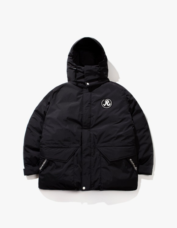 Richardson R Glyph Down Jacket - Black | HEIGHTS. | 하이츠 온라인 스토어