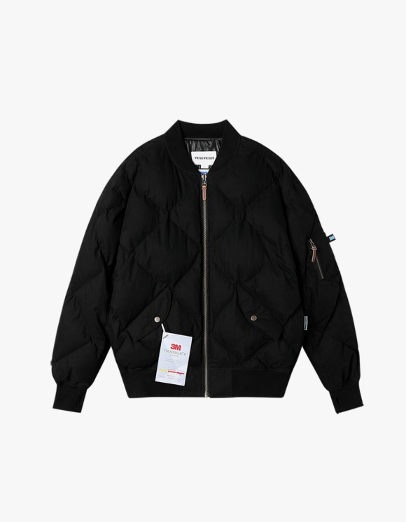 yeseyesee MA1 Puffer Jacket - Black | HEIGHTS. | 하이츠 온라인 스토어