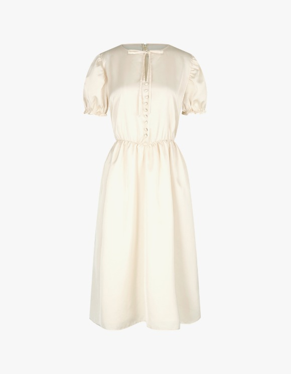 Margarin Fingers Silky Dress - Cream | HEIGHTS. | 하이츠 온라인 스토어