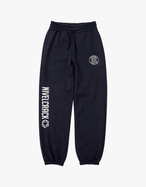 NIVELCRACK OG Squad Sweat Pants - Navy | HEIGHTS. | 하이츠 온라인 스토어